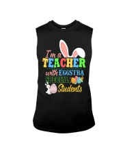 I'm a Teacher with Eggstra special Students Sleeveless Tee thumbnail