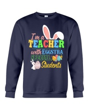 I'm a Teacher with Eggstra special Students Crewneck Sweatshirt thumbnail