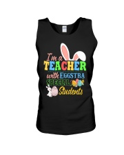 I'm a Teacher with Eggstra special Students Unisex Tank thumbnail