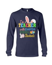 I'm a Teacher with Eggstra special Students Long Sleeve Tee thumbnail