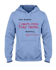 Sincerely Offended Nurse Hooded Sweatshirt thumbnail
