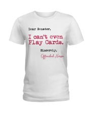Sincerely Offended Nurse Ladies T-Shirt front
