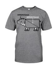 HIPPOPOTAMUS SHIRT Classic T-Shirt front