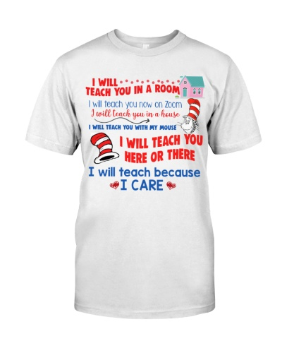I will teach because i care