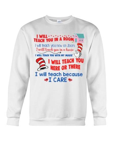 I will teach because i care