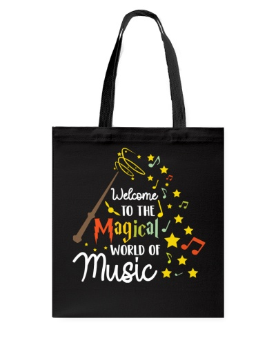 WELCOME TO THE MAGICAL WORLD OF MUSIC