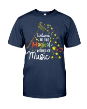 WELCOME TO THE MAGICAL WORLD OF MUSIC Classic T-Shirt tile
