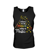 WELCOME TO THE MAGICAL WORLD OF MUSIC Unisex Tank thumbnail