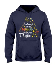WELCOME TO THE MAGICAL WORLD OF MUSIC Hooded Sweatshirt thumbnail