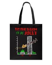 TIS THE SEASON TO BE JOLLY Tote Bag thumbnail