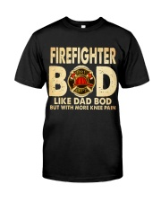 Firefighter Bod Classic T-Shirt front