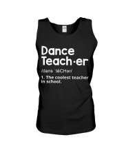 Dance Teacher Unisex Tank thumbnail