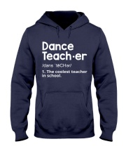 Dance Teacher Hooded Sweatshirt thumbnail