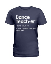 Dance Teacher Ladies T-Shirt thumbnail