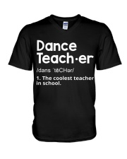 Dance Teacher V-Neck T-Shirt thumbnail