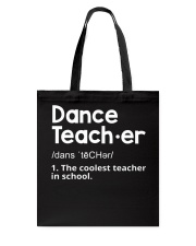 Dance Teacher Tote Bag thumbnail