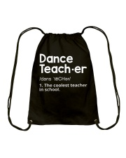 Dance Teacher Drawstring Bag thumbnail