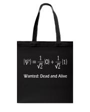 Math - Wanted Tote Bag thumbnail