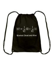 Math - Wanted Drawstring Bag thumbnail