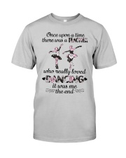 Teacher Dancing Classic T-Shirt front