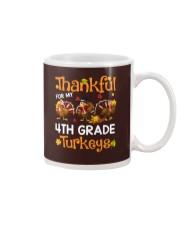 THANKFUL FOR MY 4TH GRADE TURKEYS Mug thumbnail