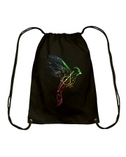 MUSIC TEACHER SHIRT Drawstring Bag tile