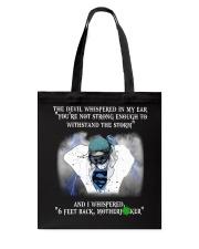 Nurse - 6 feet back Tote Bag thumbnail
