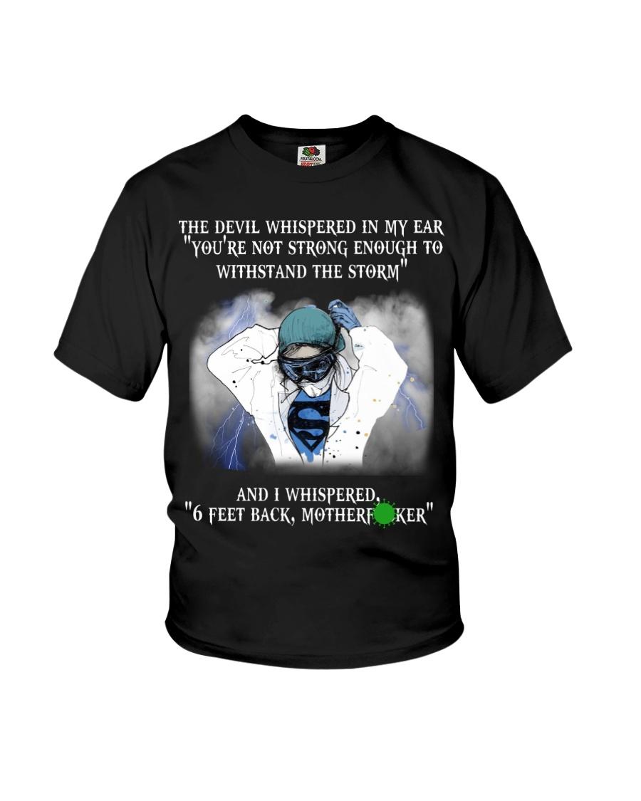Nurse - 6 feet back Youth T-Shirt