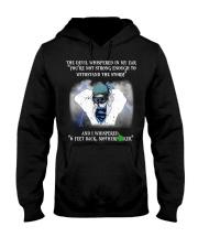Nurse - 6 feet back Hooded Sweatshirt thumbnail
