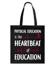 Heartbeat Education Tote Bag thumbnail