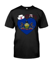 Pennsylvania Nurse Premium Fit Mens Tee thumbnail