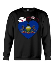 Pennsylvania Nurse Crewneck Sweatshirt thumbnail