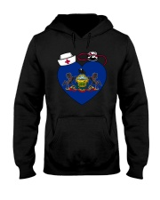 Pennsylvania Nurse Hooded Sweatshirt thumbnail