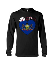 Pennsylvania Nurse Long Sleeve Tee thumbnail