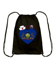 Pennsylvania Nurse Drawstring Bag thumbnail