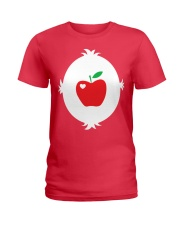 APPLE TEACHER Ladies T-Shirt thumbnail