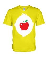 APPLE TEACHER V-Neck T-Shirt thumbnail