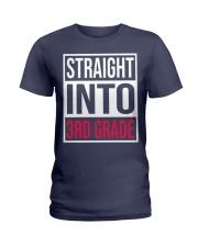 Straight into 3rd grade Ladies T-Shirt thumbnail