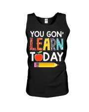 You Gon' Learn Today Unisex Tank thumbnail
