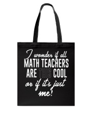LIFE ISN'T ALL ABOUT MATH THERE'S COFFEE ALSO Tote Bag thumbnail