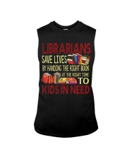 Librarians save lives Sleeveless Tee thumbnail