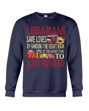 Librarians save lives Crewneck Sweatshirt thumbnail