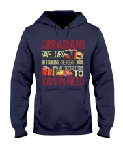Librarians save lives Hooded Sweatshirt thumbnail
