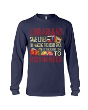 Librarians save lives Long Sleeve Tee thumbnail
