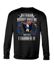 Veteran - I Earned It Crewneck Sweatshirt thumbnail