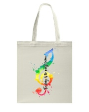 To sing is to pray twice Tote Bag thumbnail