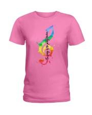 To sing is to pray twice Ladies T-Shirt thumbnail