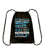 Special Education Teacher Drawstring Bag thumbnail