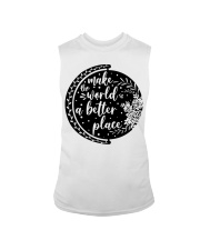 MAKE THE WORLD A BETTER PLACE Sleeveless Tee thumbnail