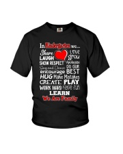 In KIndergarten We are Family Youth T-Shirt thumbnail